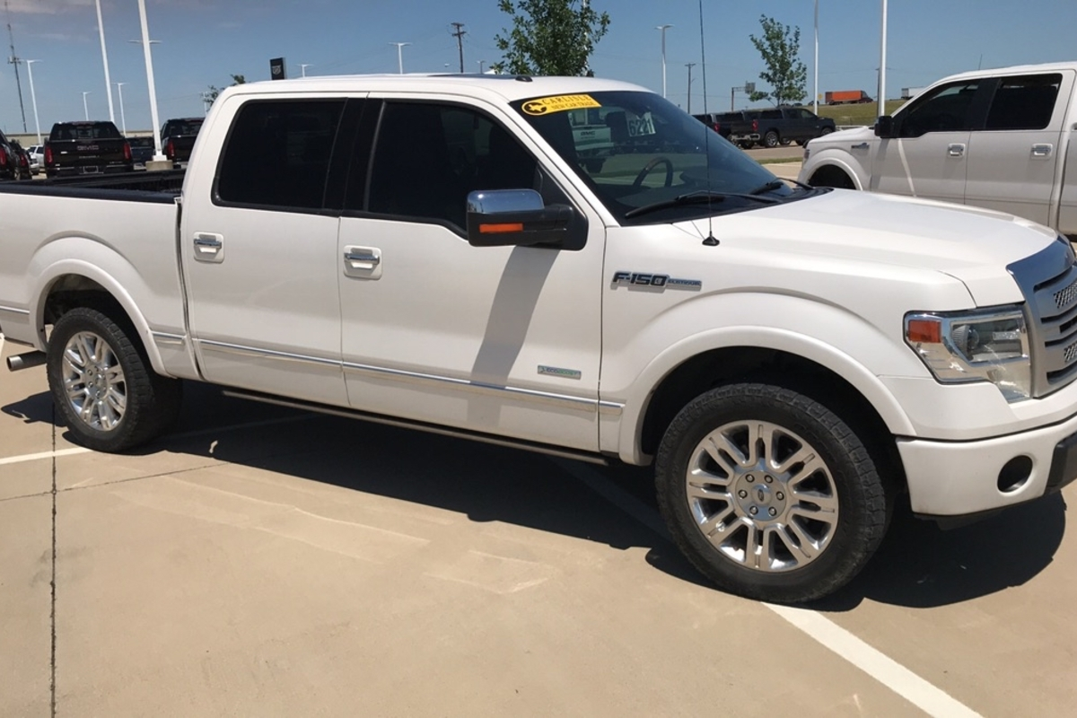 2013 Ford F-150 Platinum SuperCrew 6.5-ft. Bed 2WD