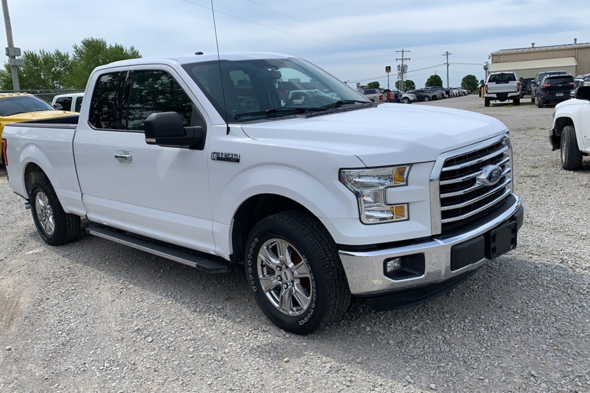 2015 Ford F-150 XLT SuperCab 6.5-ft. 2WD
