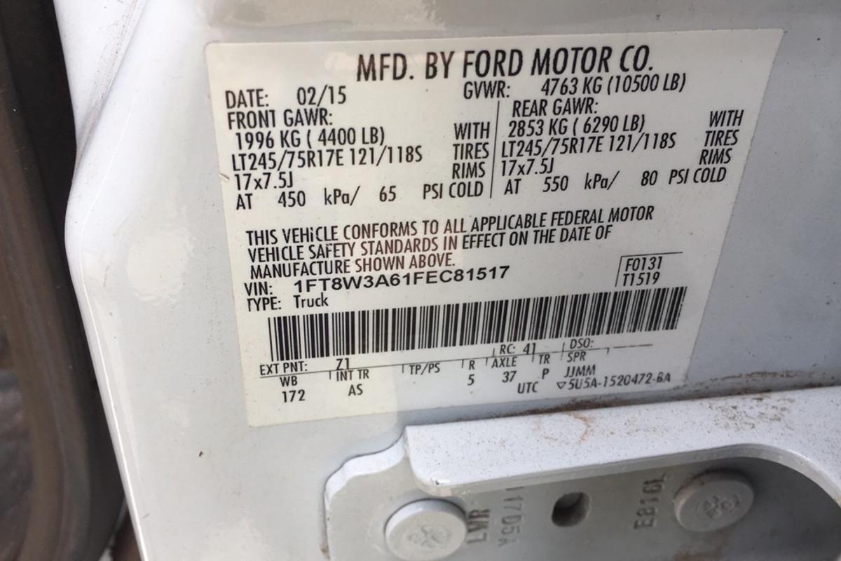 2015 Ford F350sd XL