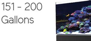 Aquariums 151 to 200 Gallons