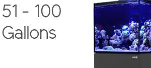 Aquariums 51 to 100 Gallons