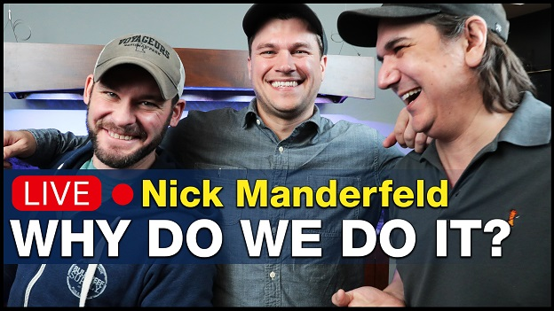 BRS360 LIVE Episode 8 Nick Manderfeld