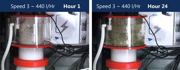 Regal pump speed 3 test results
