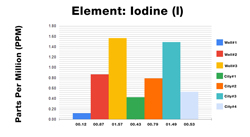 Iodine ICP Test Results