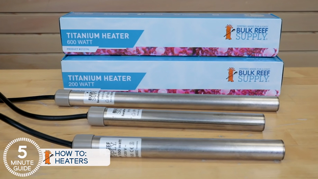 BRS heater titanium heating element