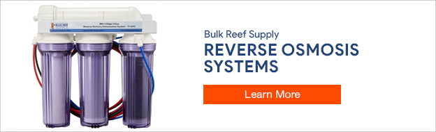 Bulk Reef Supply Reverse Osmosis Systems