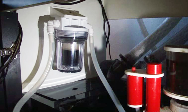Bulk Reef Suppler Mini GFO and Carbon Reactor