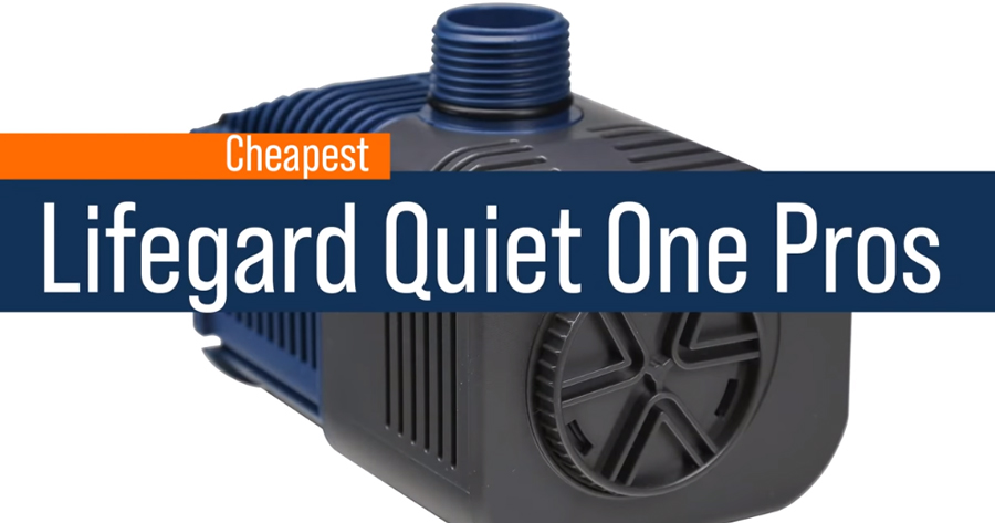 Lifegard Quiet One Pro - Most Affordable