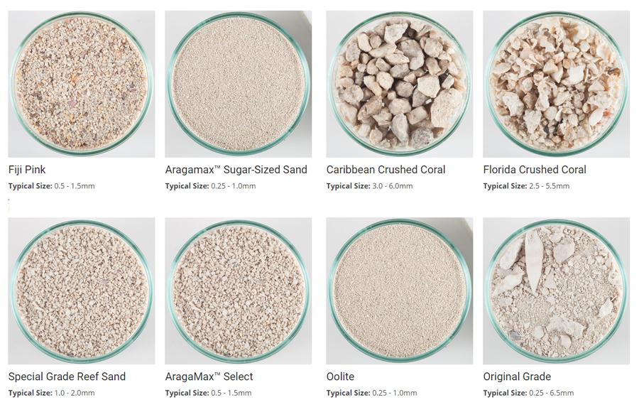 Caribsea Aragonite and Ocean Direct Sand