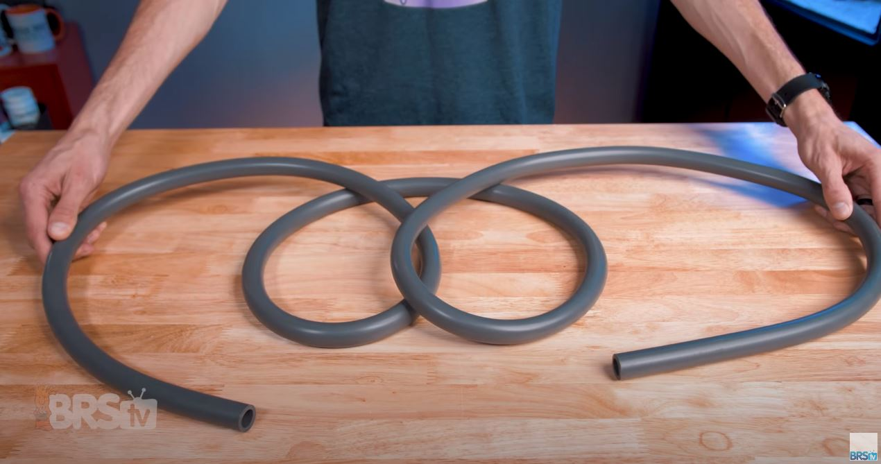 Step Seven: Attach the intake and output to your filter using the grey tubing.