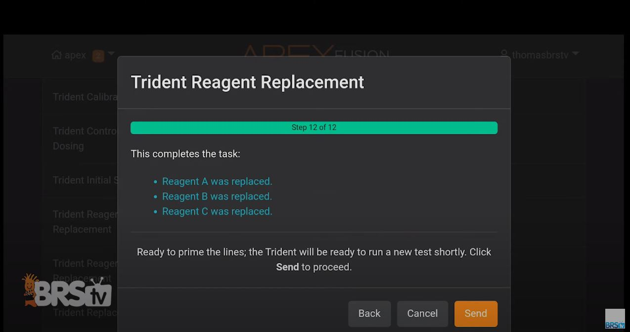 Confirm task completion