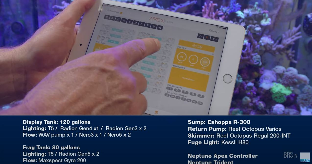 Neptune Systems Fusion interface