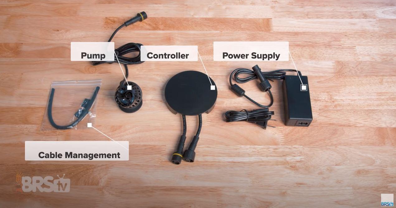 Aqamai KPS Powerhead Package Contents