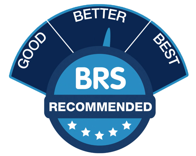 BRS Recommended Good, Better, Best Scale