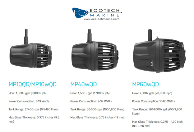 EcoTech Marine VorTech Specifications