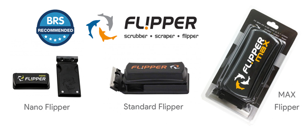 Flipper Cleaner Sizes