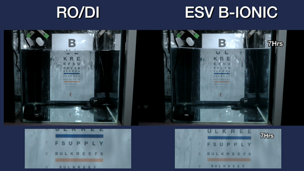 ESV Seawater System Clarity Results