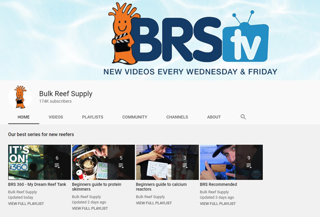 current BRStv YouTube channel