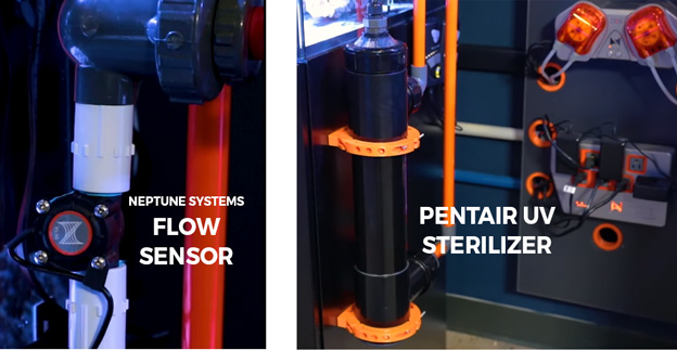 Pentair UV sterilizer with Neptune Flow Sensor