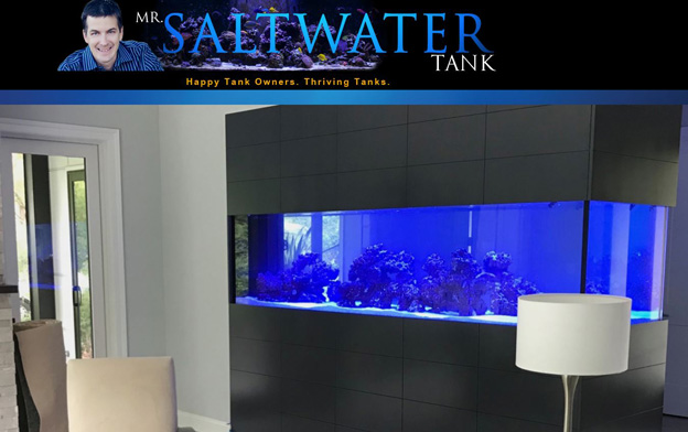 Mr. Saltwater Tank Website