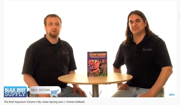 Ryan discussing The Reef Aquarium Volume 3 book