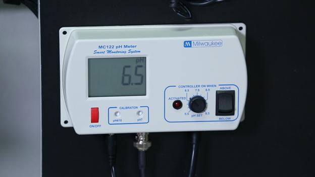 pH Controller setpoint 6.5