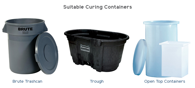 Curing Container Options