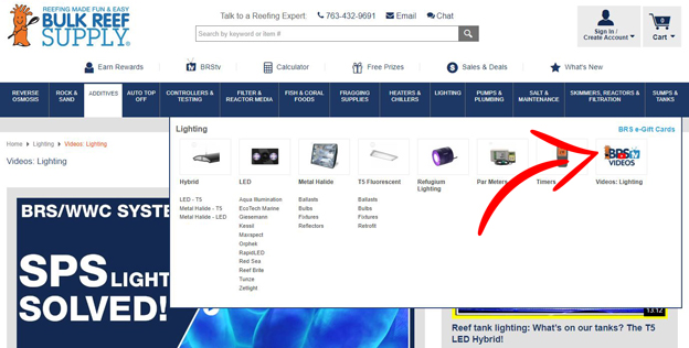 BRStv lighting videos NOW available in main category navigation