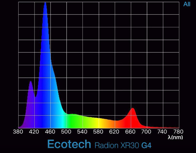 Radion Spectrum Graph