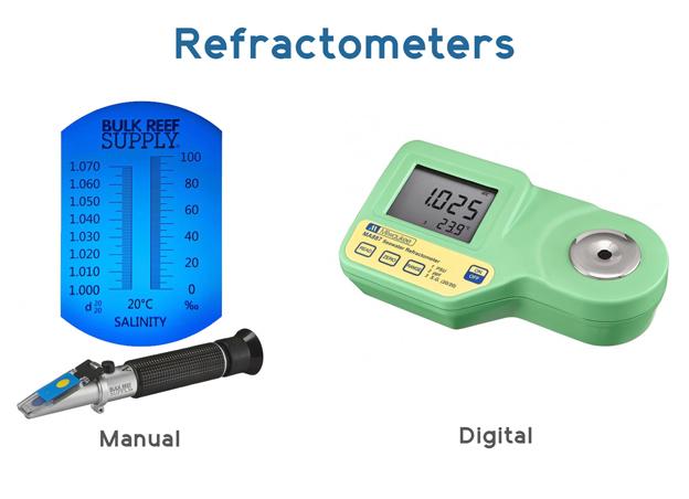 Refractometer options