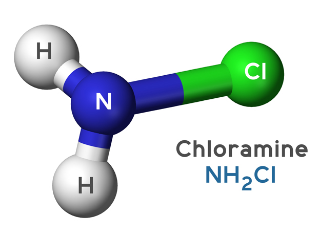 Chloramine Molecule