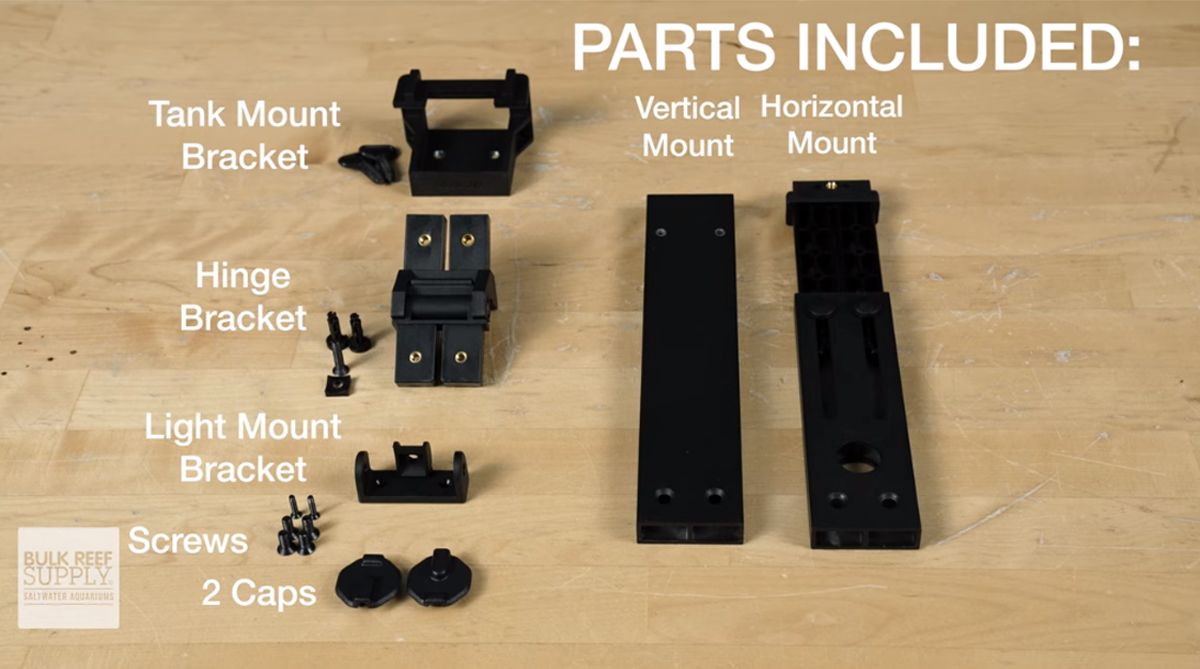 Parts included