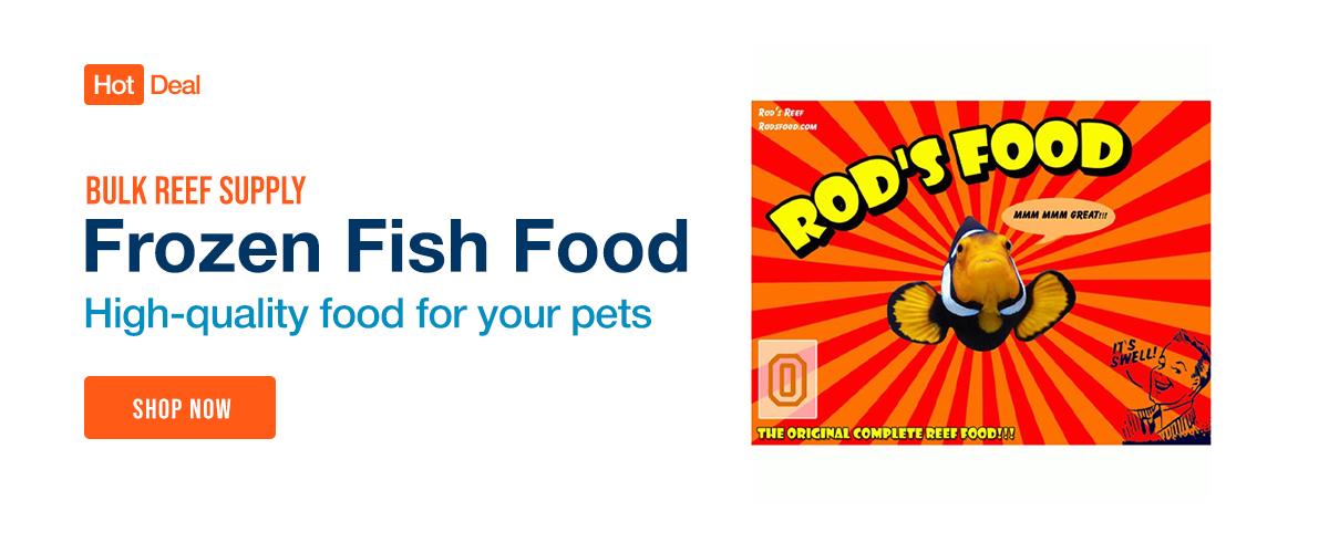 Shop Frozen Fish Food