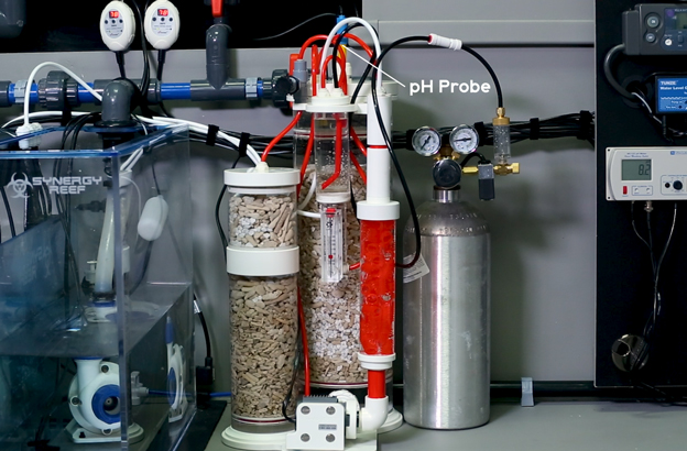Calcium Reactor with pH probe