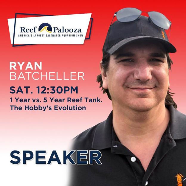 Ryan's Reefapalooza Speaker Flyer