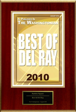 Washingtonian Magazine Best of Del Ray 2010