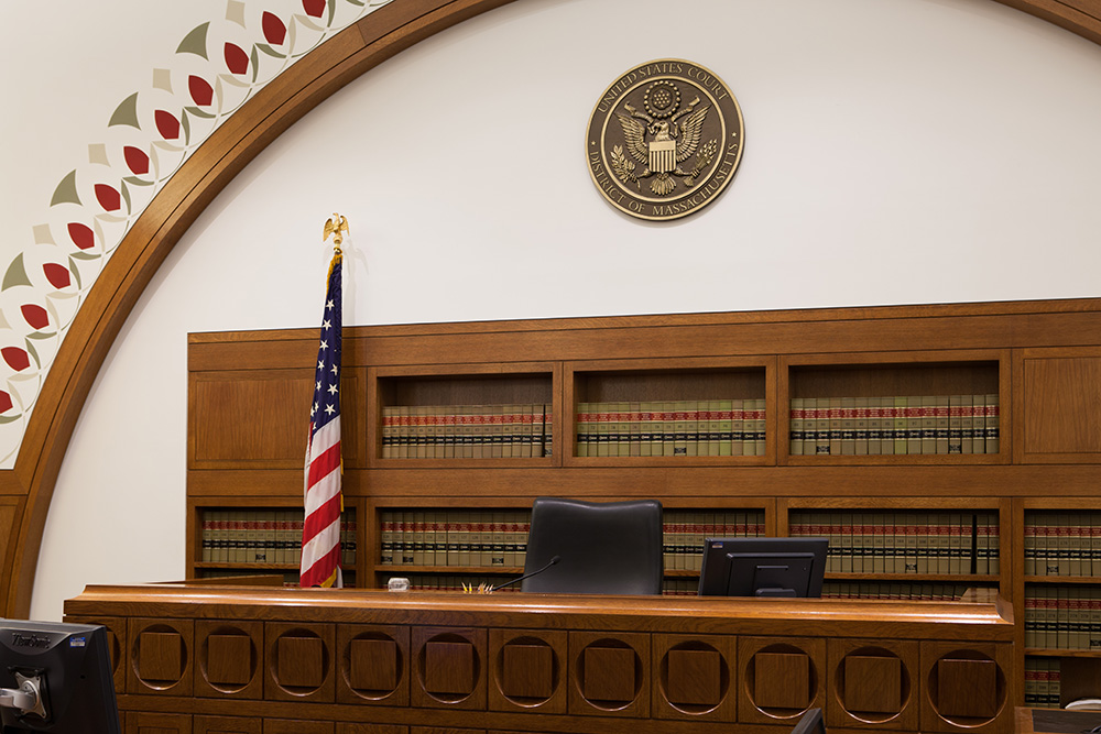 1428444705 moakley courtroom 9 bench 1.jpg