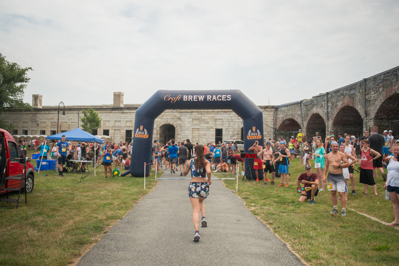 Newport Craft Brew Race