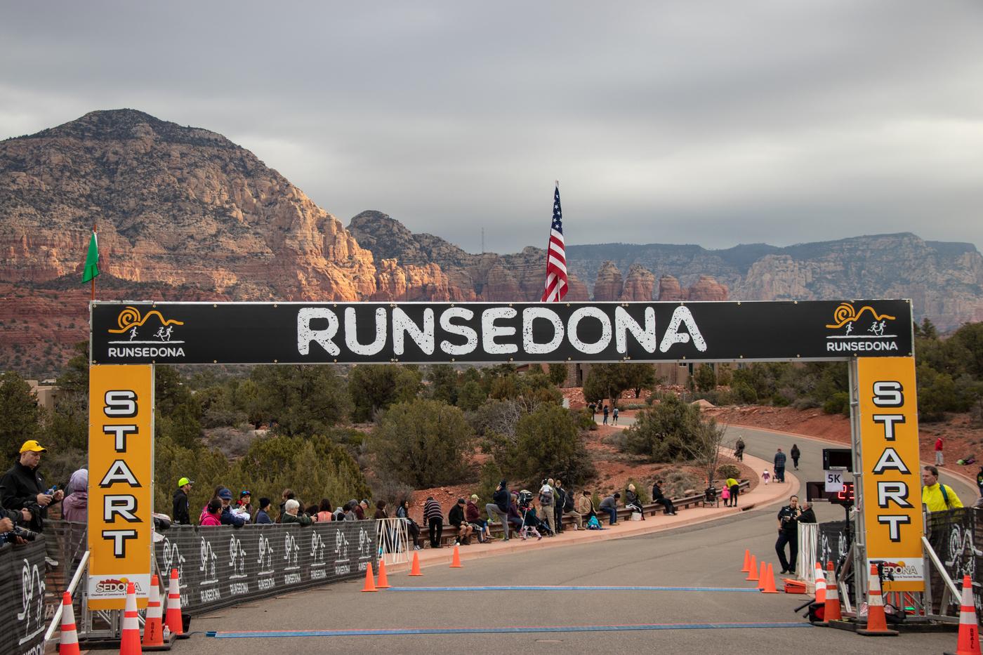 RunSedona Half Marathon