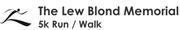 The Lew Blond Memorial 5k run/walk