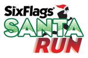 Six Flags Santa Run