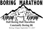 The Boring Marathon, Half Marathon and 8K