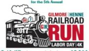 G H Railroad Run Labor Day 4K