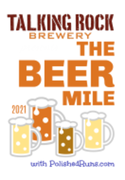 The Beer Mile at Talking Rock Brewery
