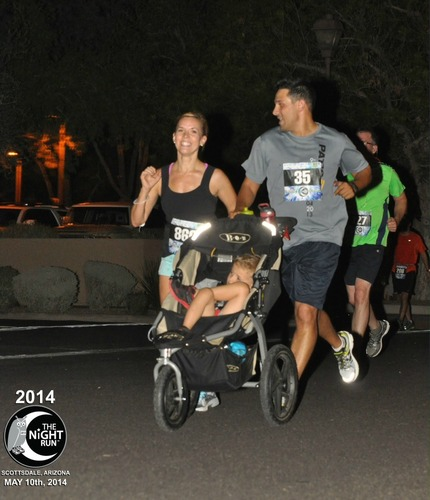 Scottsdale Night Run, Fun for the Whole Family