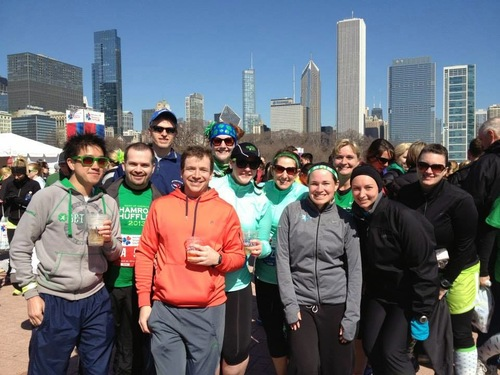 the unofficial start of the running season in chicago!