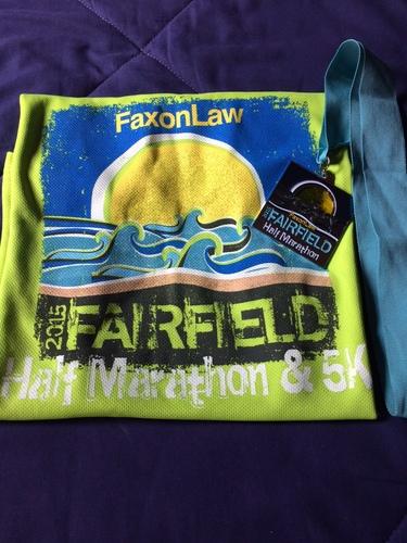 Faxon Law Group Fairfield Half Marathon Race Recap