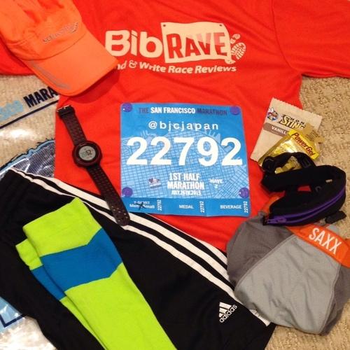 San Francisco First Half Marathon