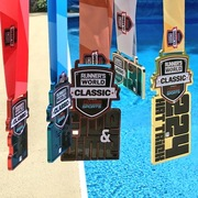 Thumb runner s world classic hat trick medals x5