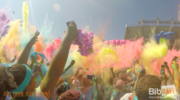 Thumb color run party